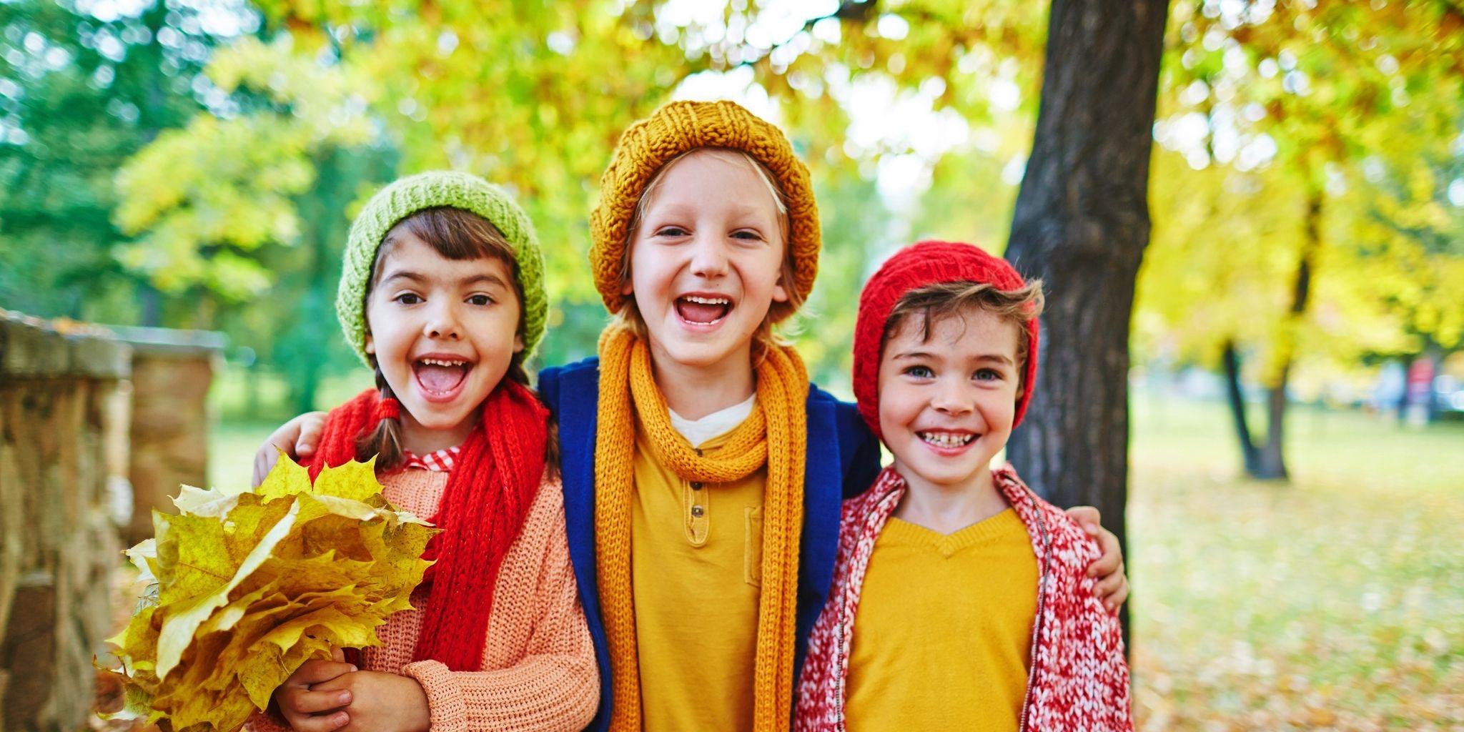 Come spiegare l'autunno ai bambini in maniera divertente