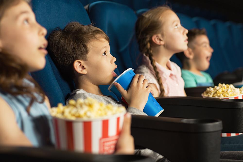 Festa di compleanno al cinema