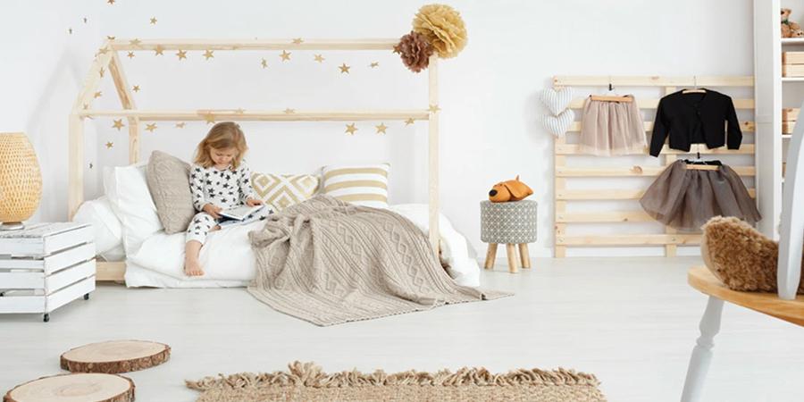 Mobili e giochi Montessori per arredare la cameretta dei bambini