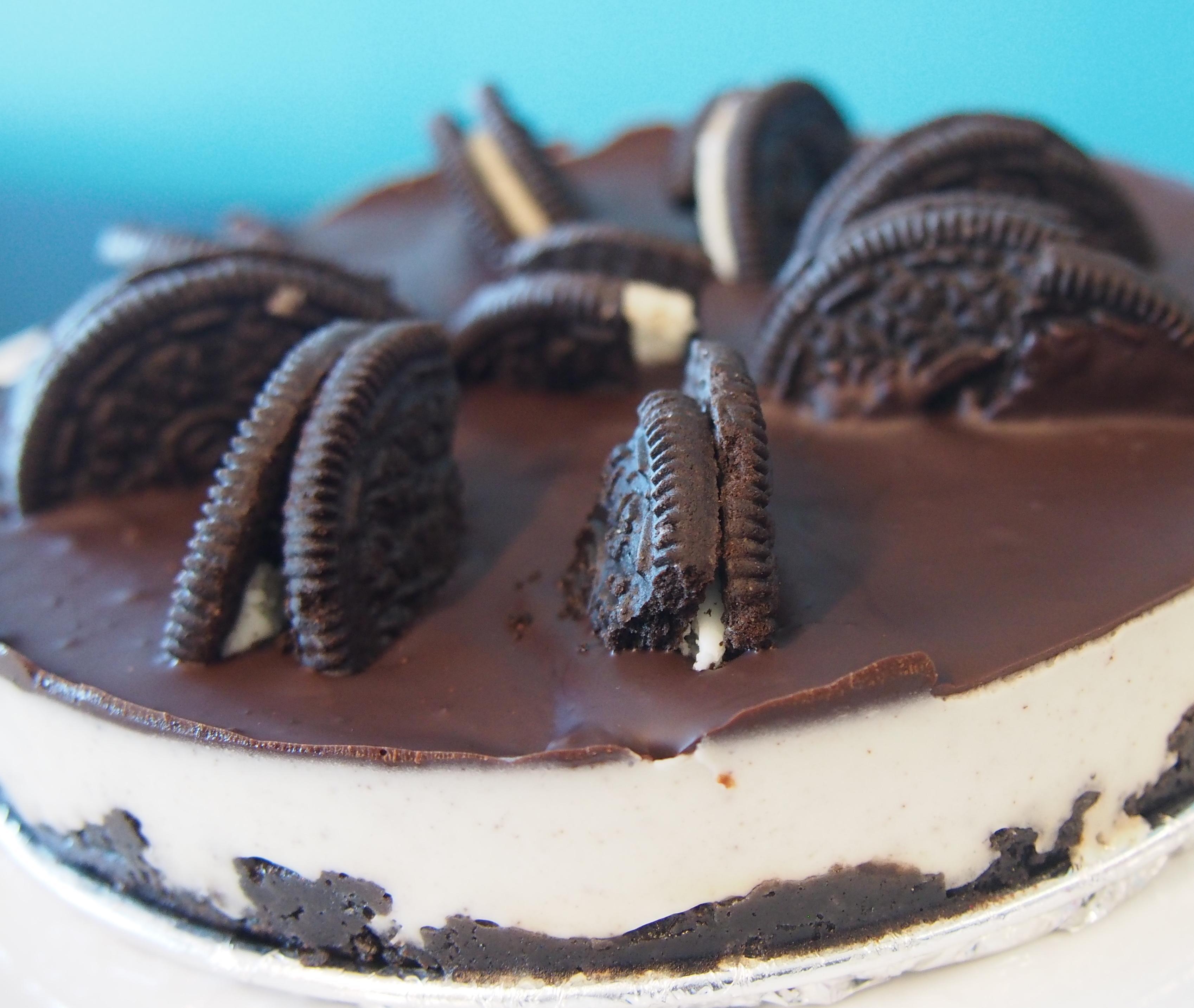 焼かないオレオチーズケーキ