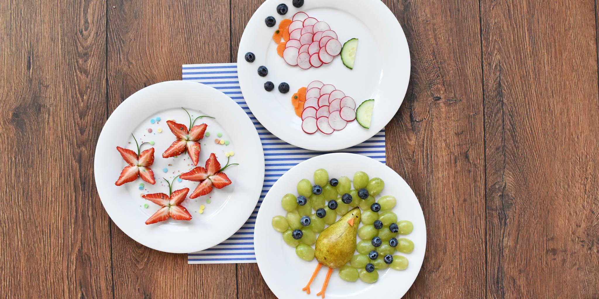 フルーツや野菜を楽しく食べる方法!