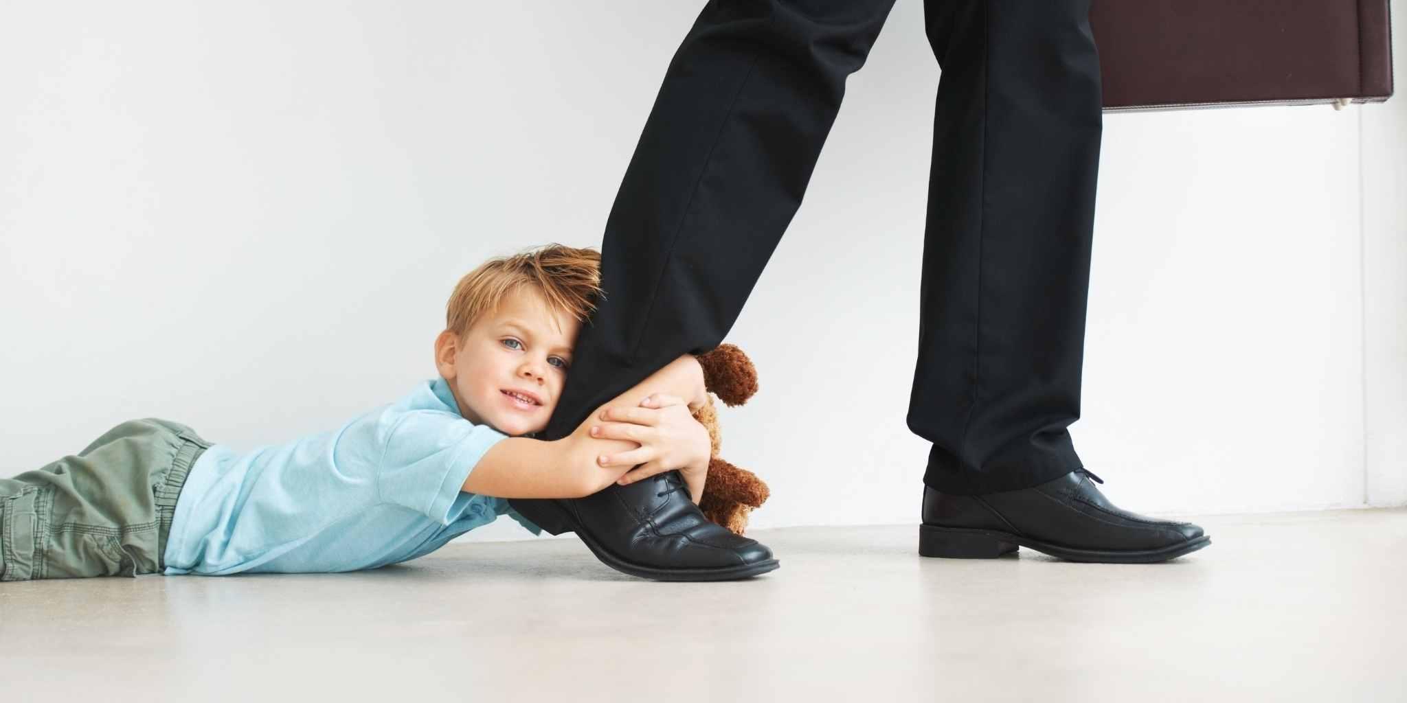 Ką daryti, kai vaikai jaučia išsiskyrimo nerimą