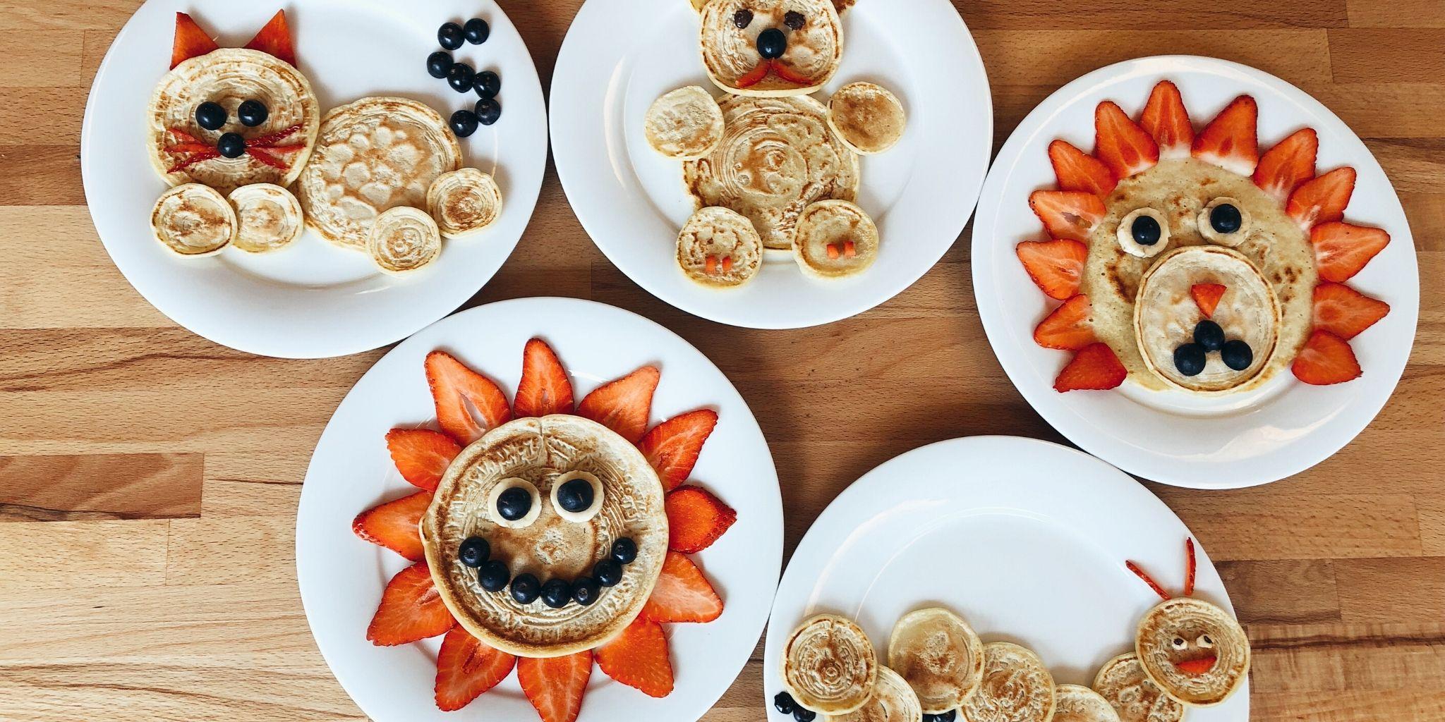 Sunne og gøyale pannekaker for barn