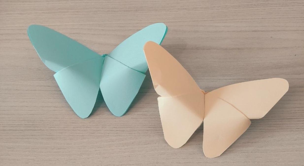 3x lente origami voor kinderen
