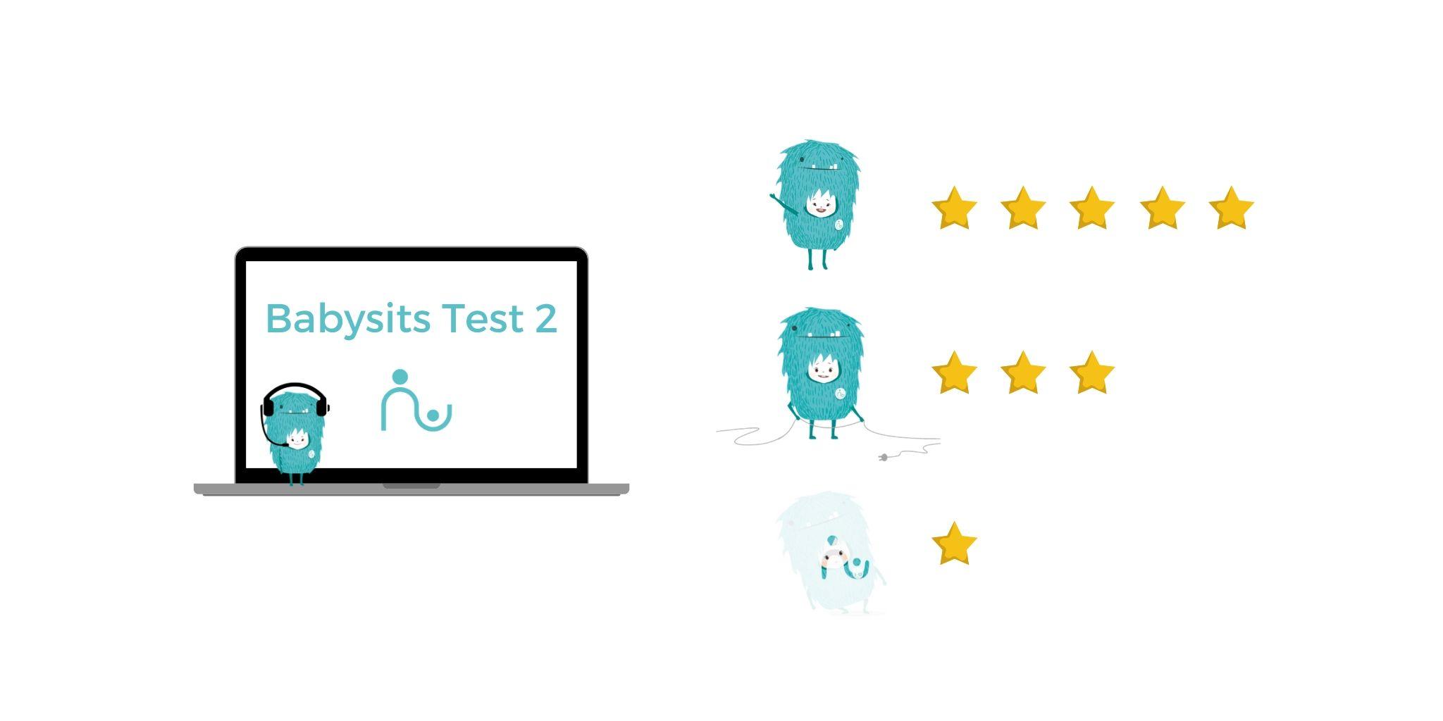 Doe de oppas-test 2