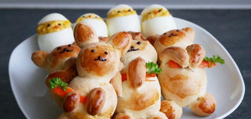 Recepten voor Pasen - zelfgemaakte Paashaas en Paaskuiken