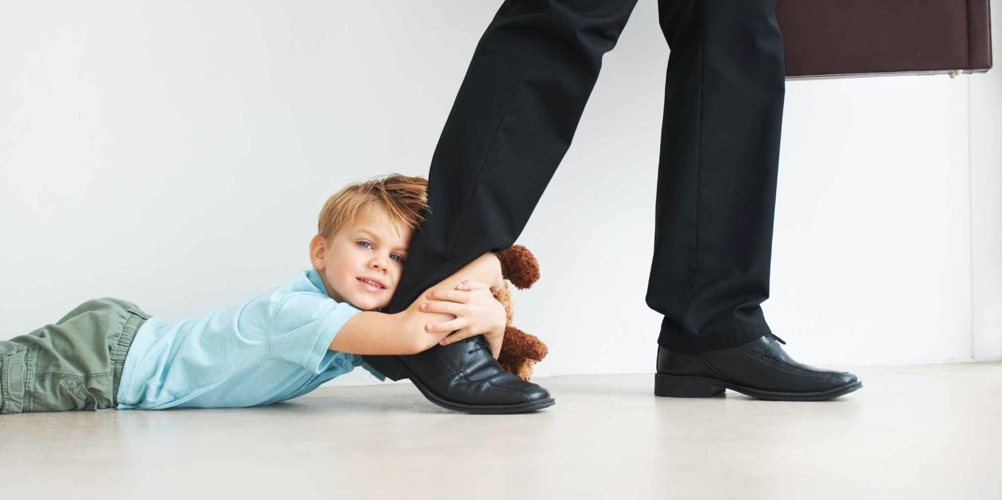 Tips voor verlatingsangst bij kinderen