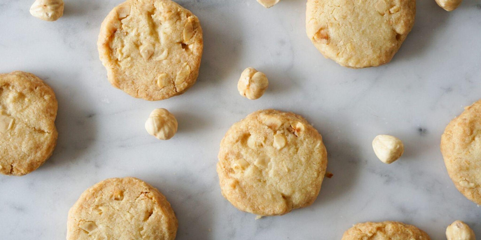 Łatwe kruche ciasteczka
