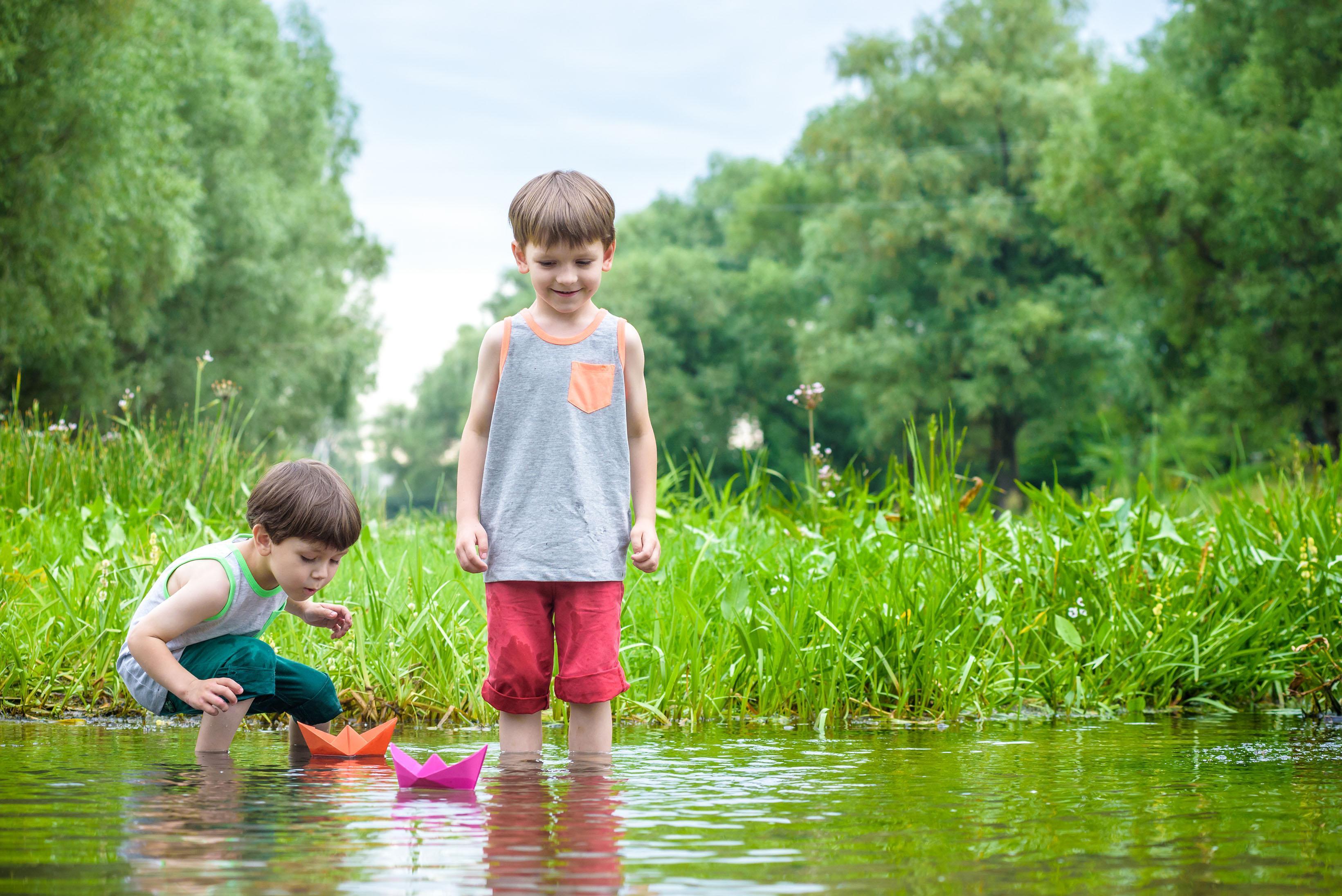 As 4 melhor atividades ao ar livre para as crianças