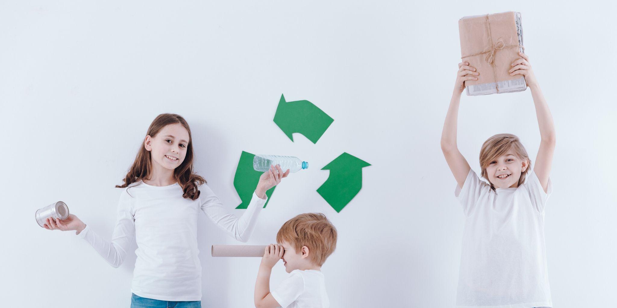 Como reciclar com as crianças