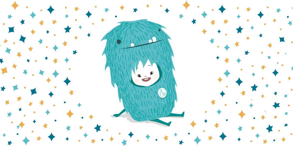 Diga olá ao mascote da Babysits!
