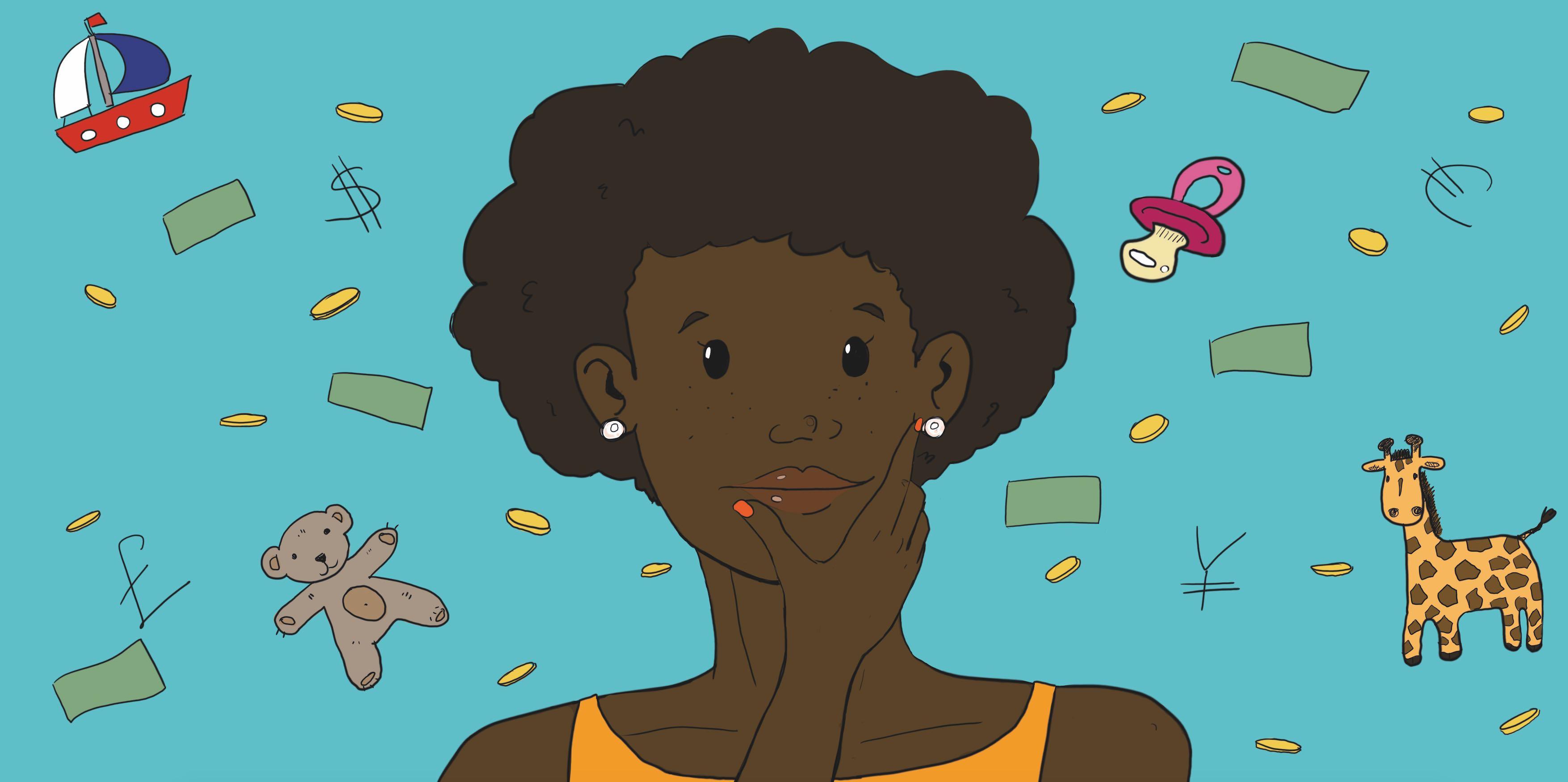 Qual é o preço médio do serviço de babá no Brasil?