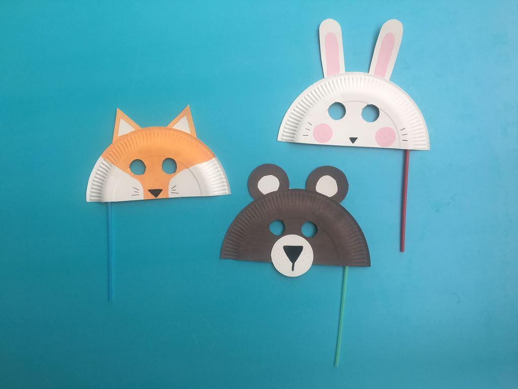 DIY djurmasker