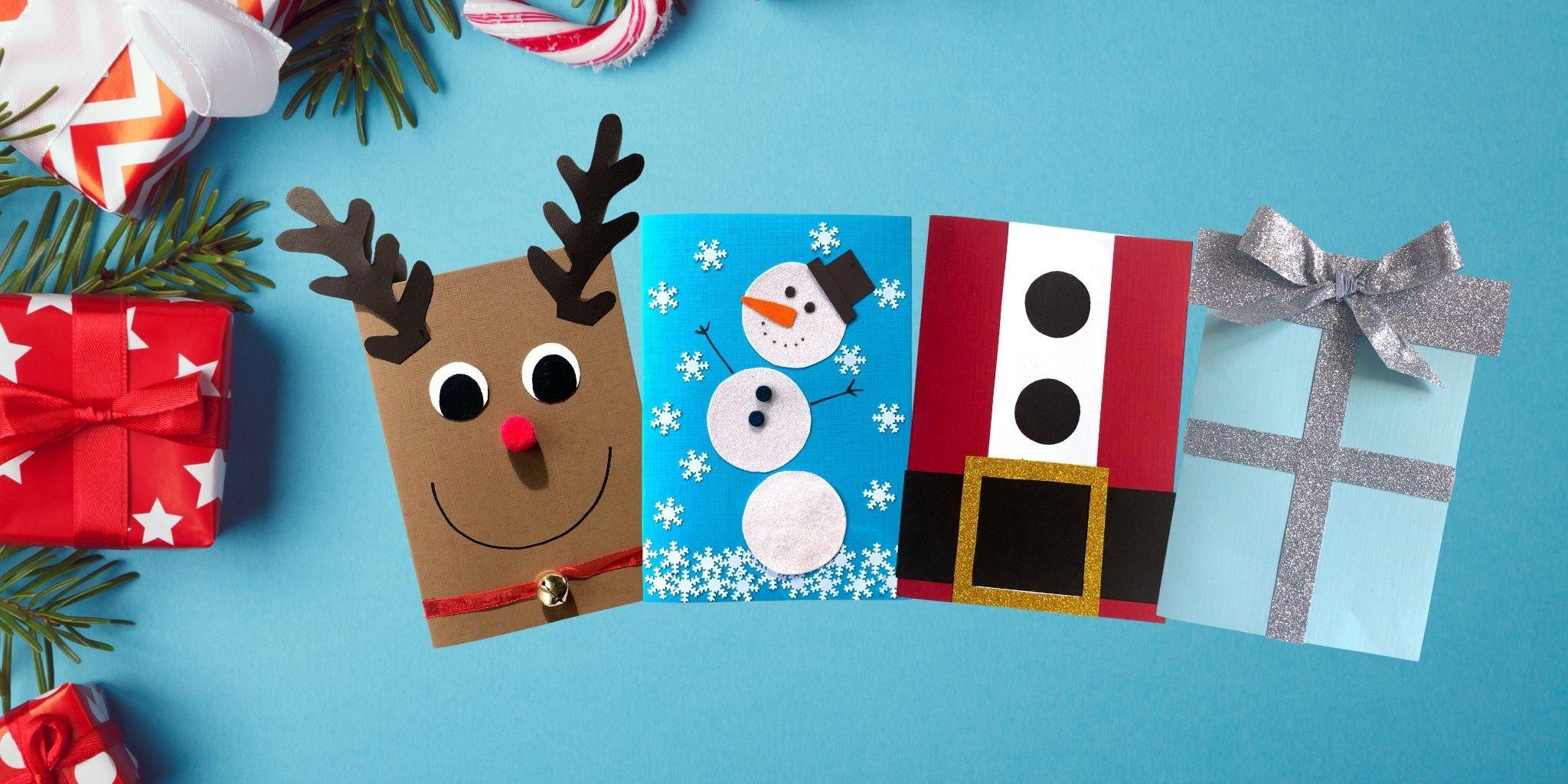 Julen är här - Enkla julpyssel och recept för barn