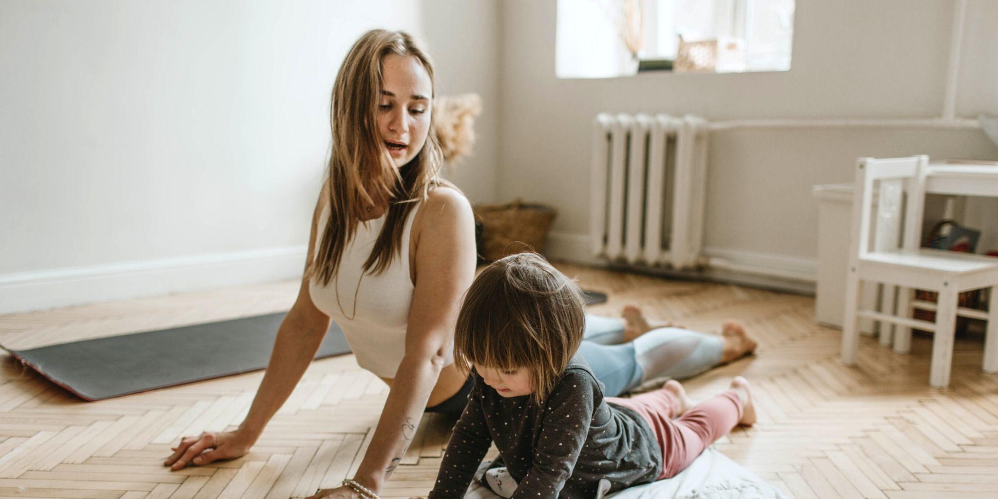Yogaövningar för barn