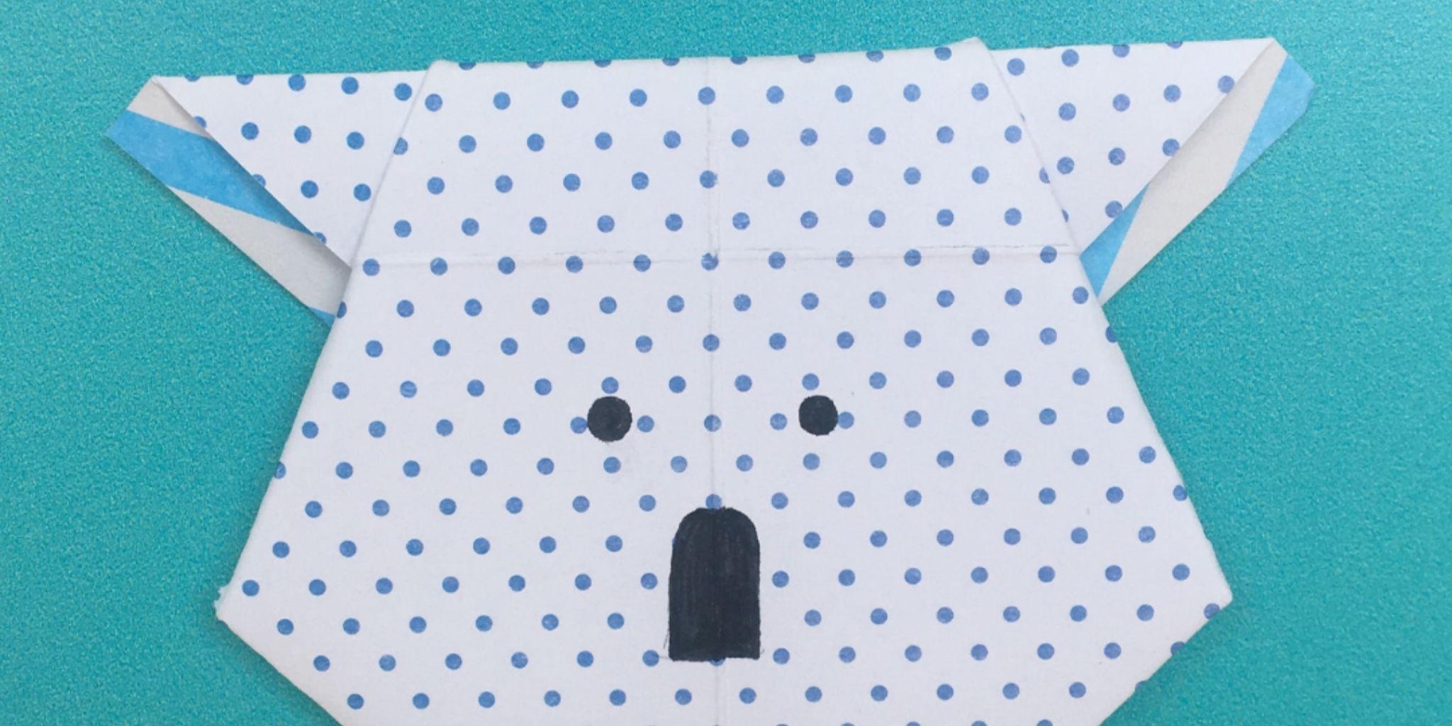 摺紙無尾熊