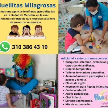 Agencia de cuidado de niños en Medellín: Huellitas