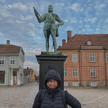 Barnevakt i Klavestadhaugen: Thea Sofie