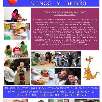 Agencia de cuidado de niños Ciudad Real: CUIDDOM CUIDADOS EN DOMICLIO CS.