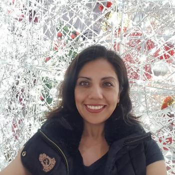 Dagmamma i Nesbru: Sandra Pérez