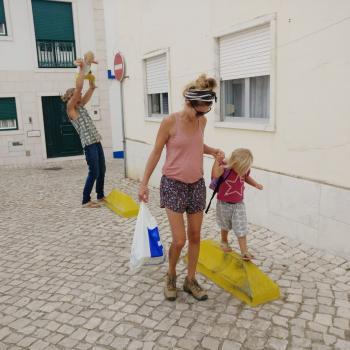 Família Mafra: Trabalho de babysitting Marion