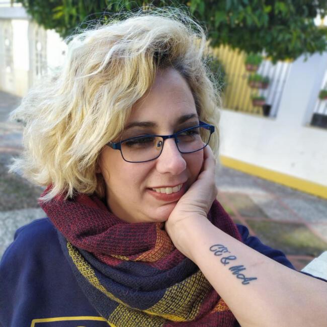 Canguro en Sevilla: Christina