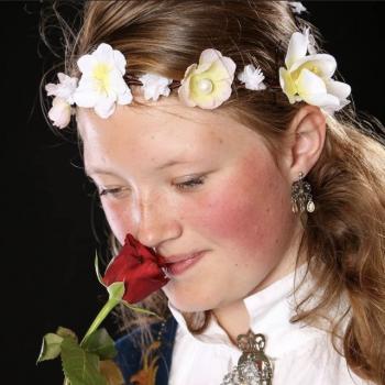 Barnevakt i Rotnes: Sigrid Kristine
