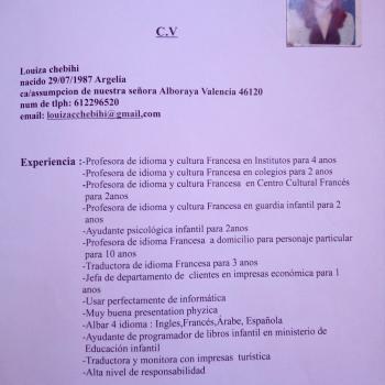 Canguro Alboraya: Louiza