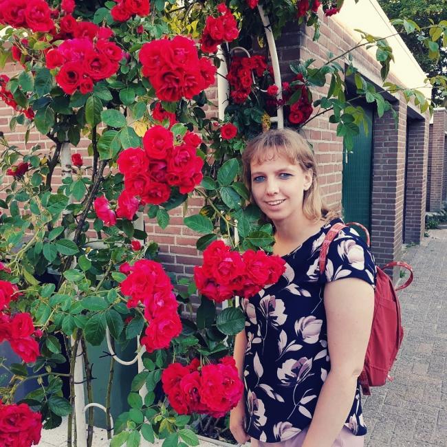 Oppas in Leiden: Sharon