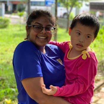 Babysitter in Singapore: Samira