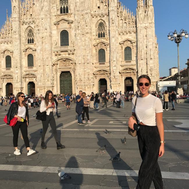 Tata a Milano Fiori: Anna