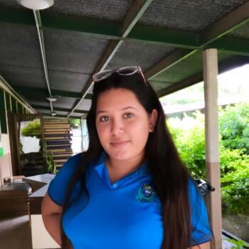 Niñera en Liberia: Alison junieth