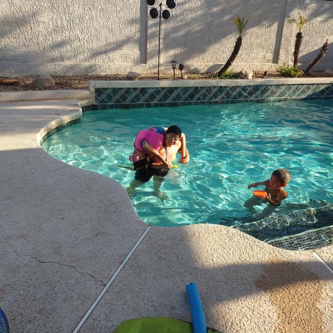 Babysitting job in Mesa: Pablo