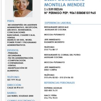 Babysitter Iquitos: Delia