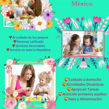 Agencia de cuidado de niños en Tampico: Niñeras SOS