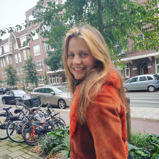 Oppas in Amsterdam: Anne