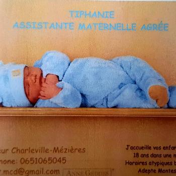 Assistante maternelle Charleville: Tiphanie