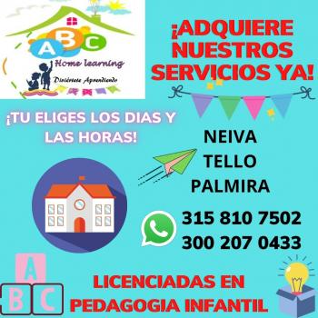 Childcare agency in Neiva: Abc Home Learning