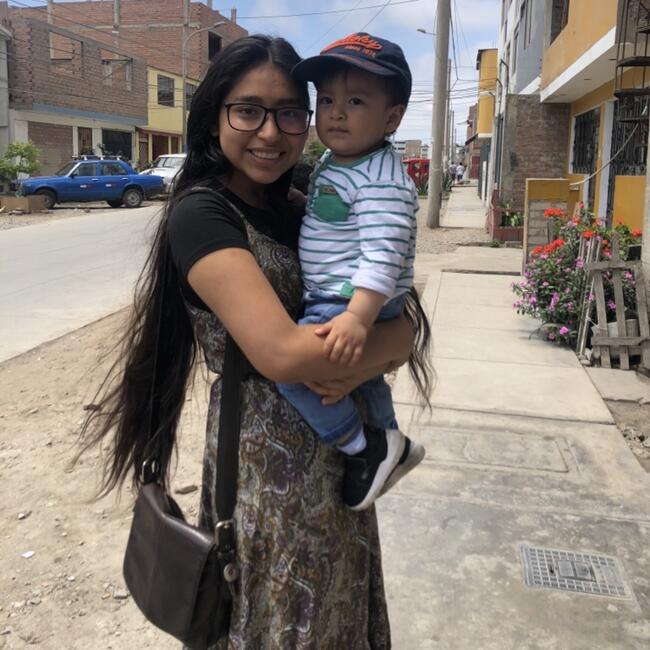 Niñera en Lima: Anabel