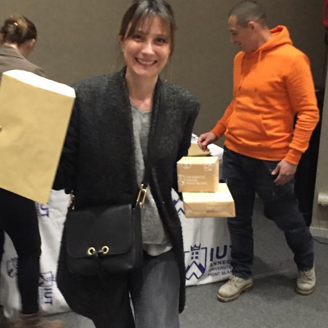 Job de garde d'enfants à Annecy: Fabienne Céline