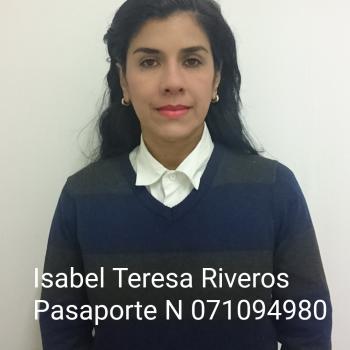Niñera Santiago de Chile: Isabel Rivero