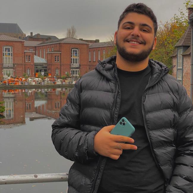 Onthaalouder in Brussel (Jette): Ibrahim
