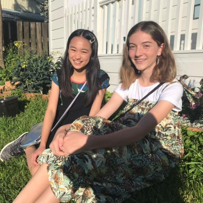 Babysitter in Wellington: Mizuha and Vita