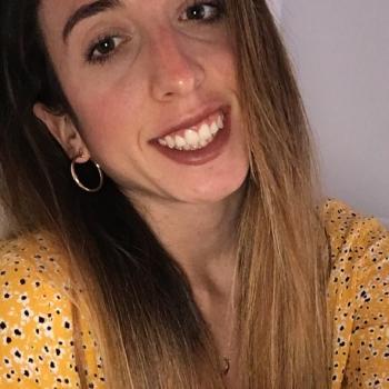 Canguro en Girona: Tania